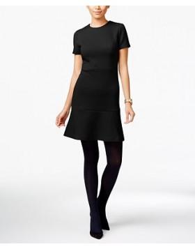 Michael Kors vormi hoidev tugevast materjalist naiselik kleit