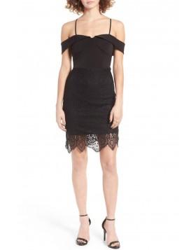 Trixxi tugevdatud rinnaosaga bodycon kleit