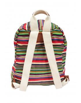 MADDEN GIRL triibuline riidest seljakott