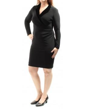 Ralph Lauren elastne avara dekolteega kleit
