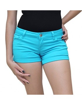 Celebrity Pink helesinised lühikesed püksid