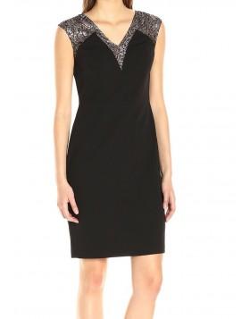 Calvin Klein pitsiga bodycon kleit