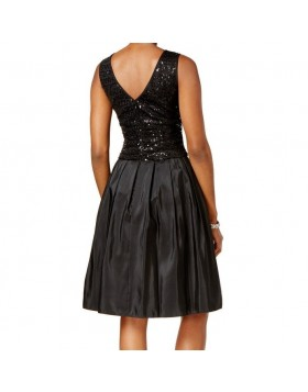 Sally Lou Fashions must litritega kleit